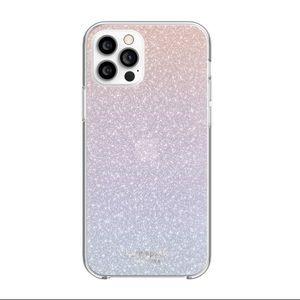 KATE SPADE Ombre Glitter iPhone 12 PRO MAX Case